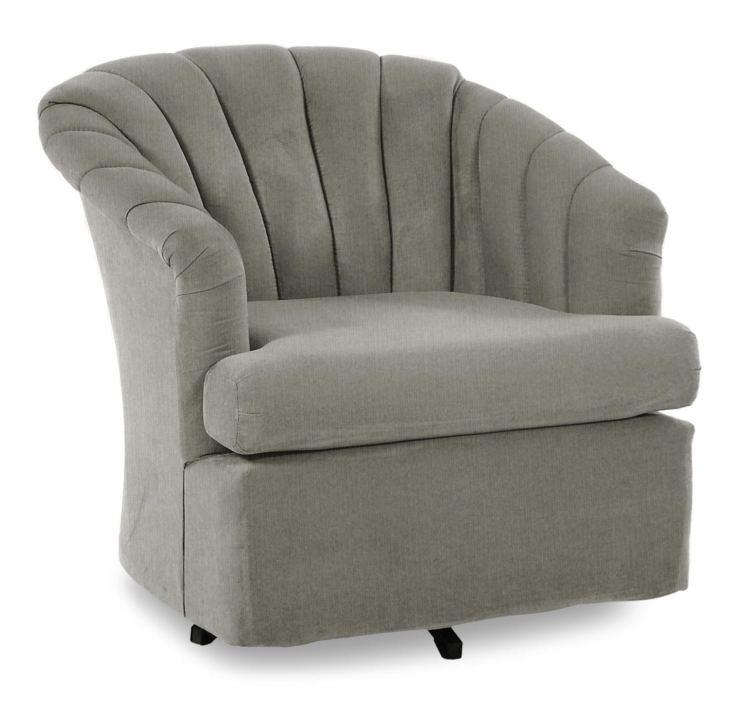 Exceptionnel Best Home Furnishings Chairs   Swivel BarrelElaine Swivel Barrel Chair