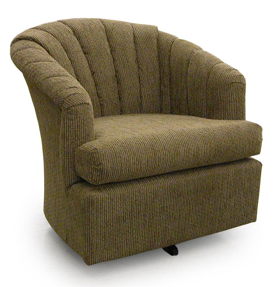 Best Home Furnishings Chairs   Swivel Barrel Elaine Swivel Barrel Chair