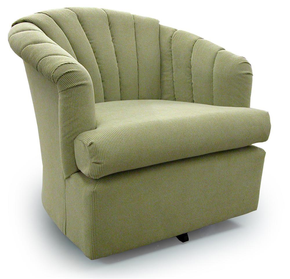... Best Home Furnishings Chairs   Swivel BarrelElaine Swivel Barrel Chair  ...