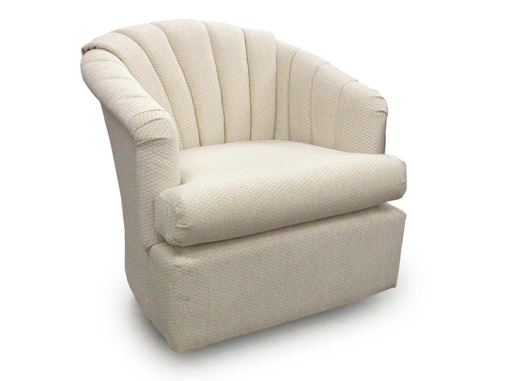 Best Home Furnishings Chairs - Swivel BarrelElaine Swivel Barrel Chair