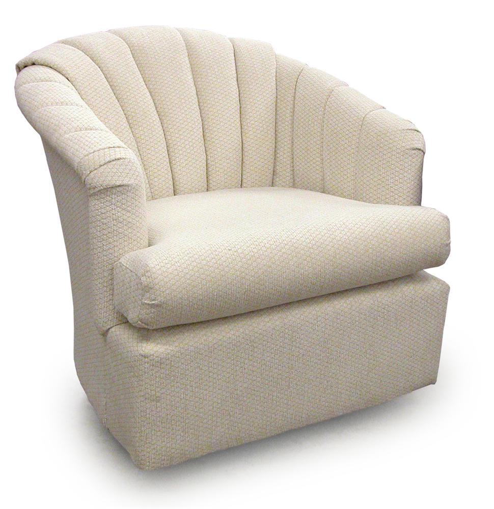 ... Best Home Furnishings Chairs   Swivel BarrelElaine Swivel Barrel Chair  ...