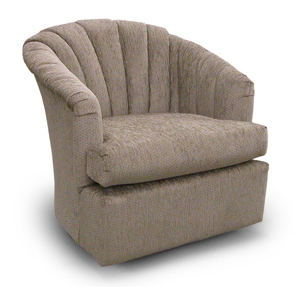 ... Best Home Furnishings Chairs   Swivel BarrelElaine Swivel Barrel Chair