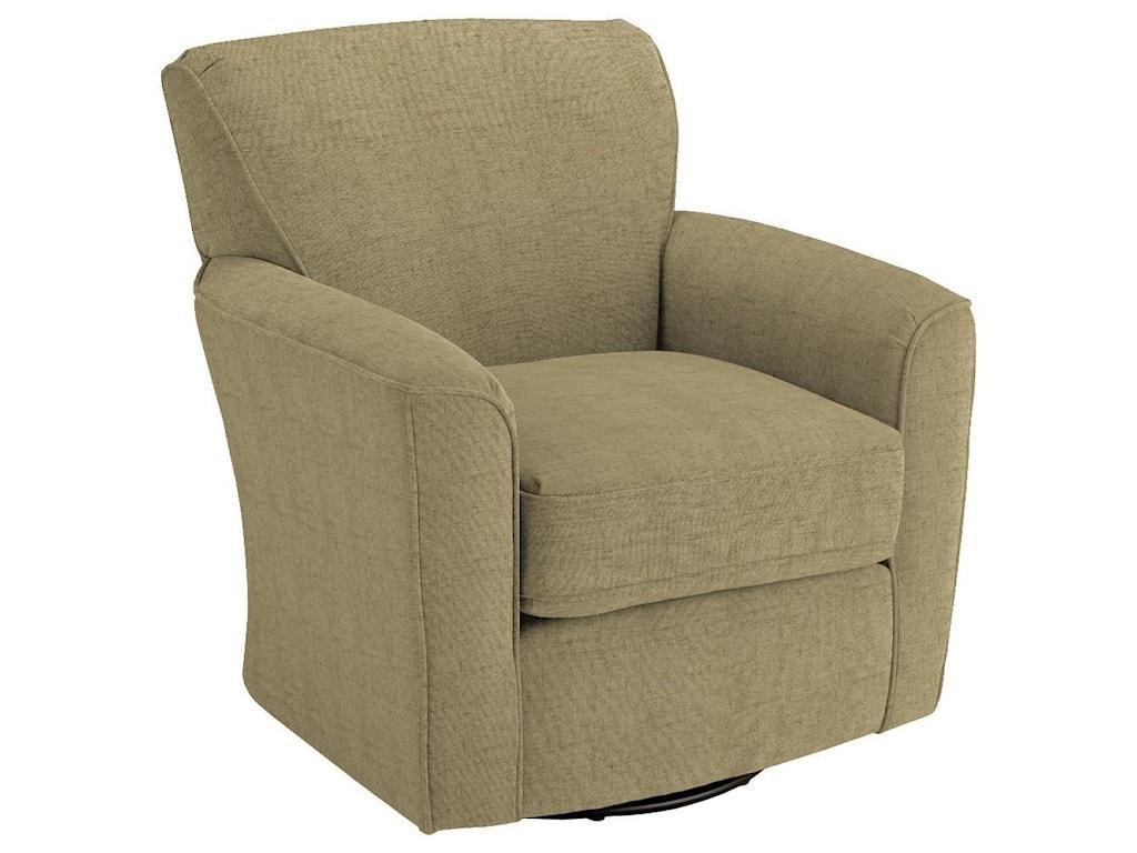 Best Home Furnishings Chairs - Swivel BarrelKaylee Swivel Barrel Chair