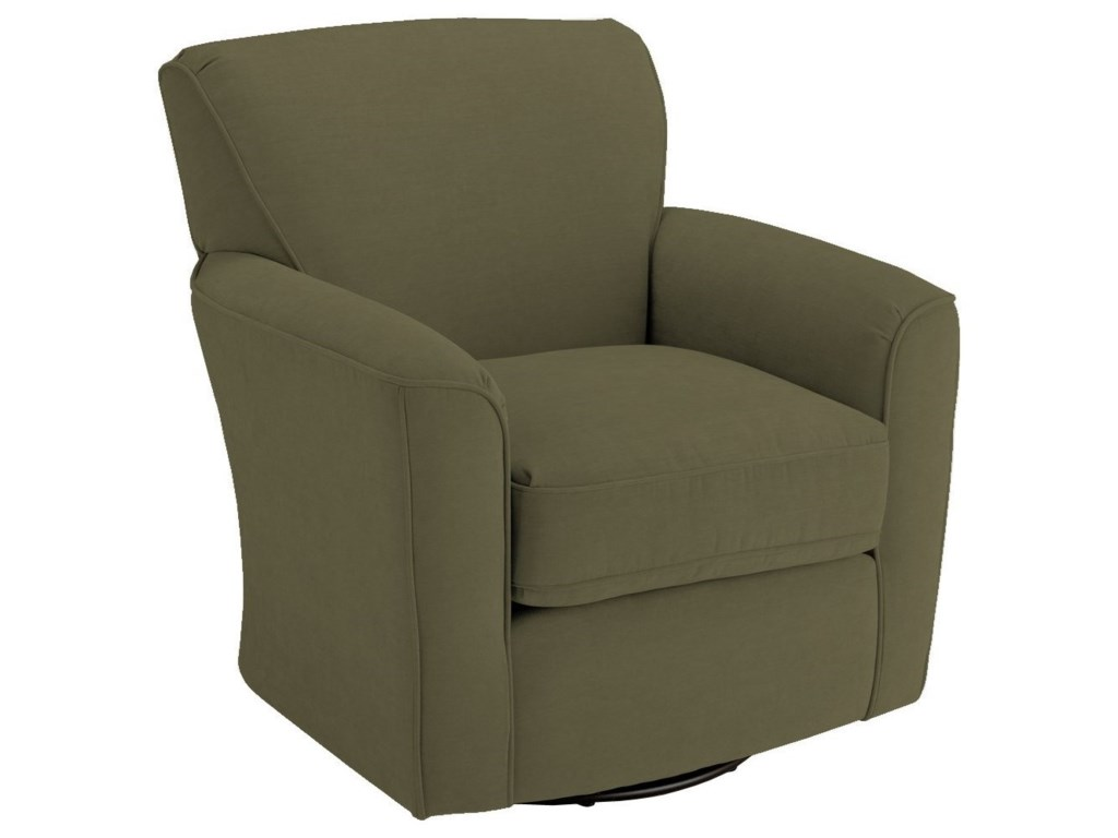 Best Home Furnishings Chairs - Swivel BarrelKaylee Swivel Barrel Chair