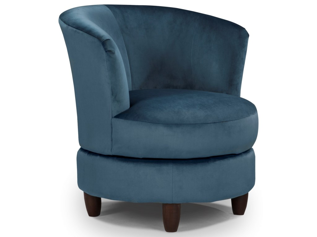 Best Home Furnishings Chairs - Swivel BarrelPalmona Swivel Chair