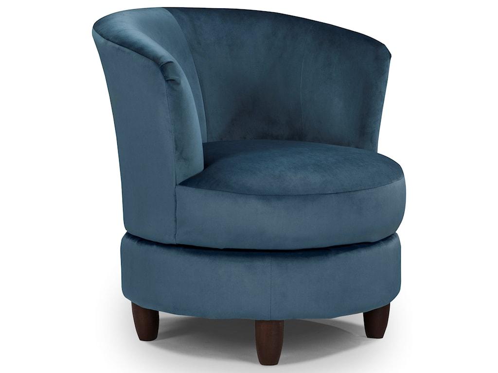 Best Home Furnishings Chairs - Swivel BarrelPalmona Swivel Chair