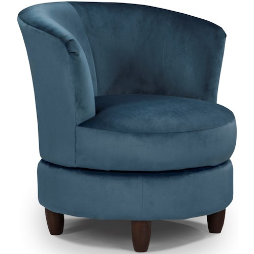 best home furnishings chairs swivel barrel palmona swivel barrel