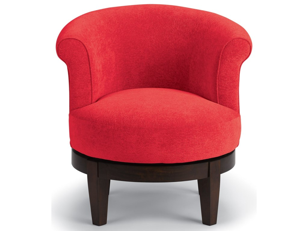 Best Home Furnishings Chairs - Swivel BarrelAttica Swivel Chair