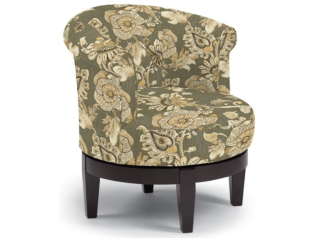 Best Home Furnishings Chairs - Swivel BarrelAttica Swivel Chair