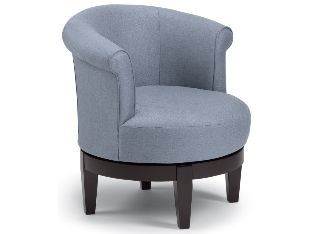 Best Home Furnishings Chairs - Swivel BarrelCherry Swivel Barrel Chair