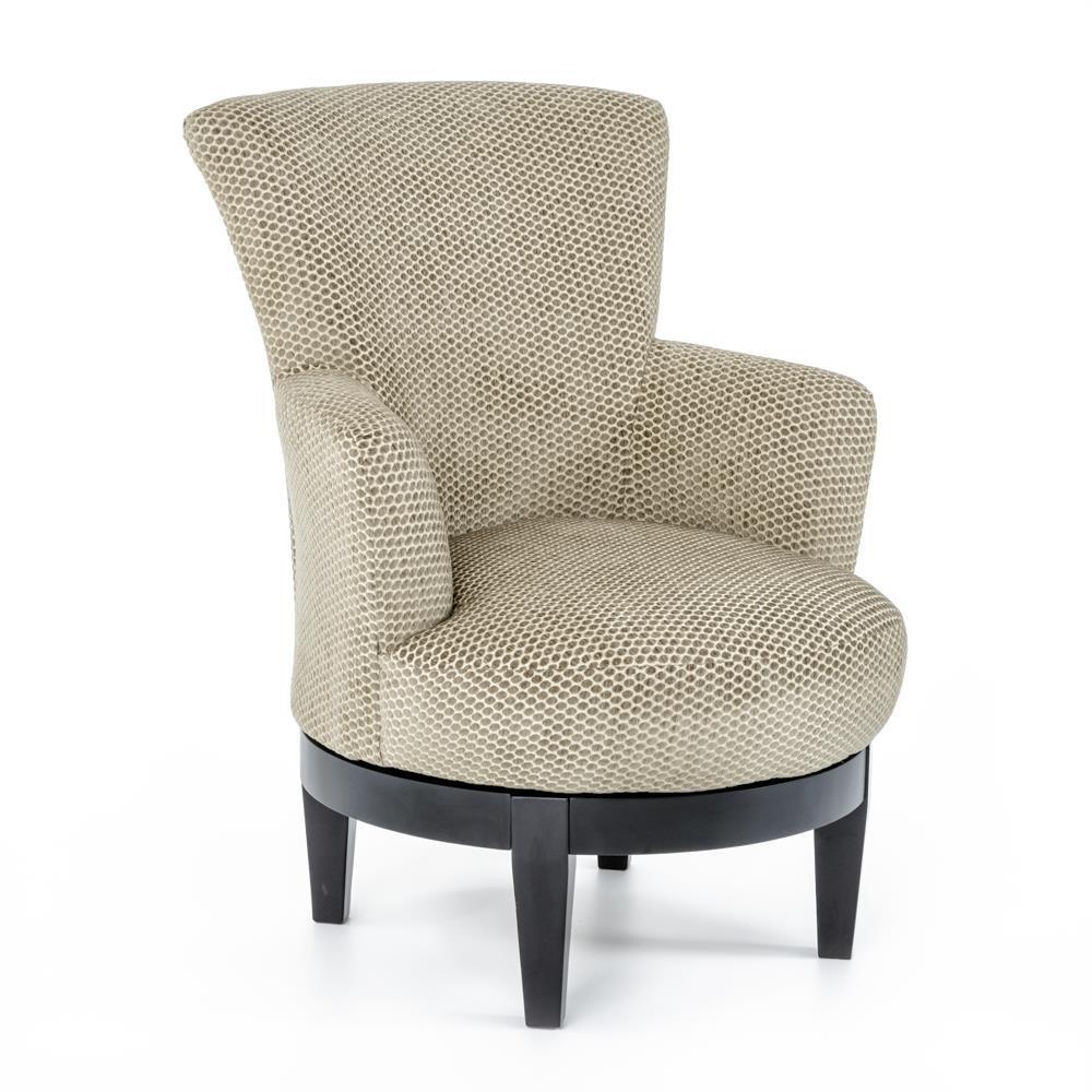 Best Home Furnishings Chairs   Swivel BarrelSwivel Chair ...