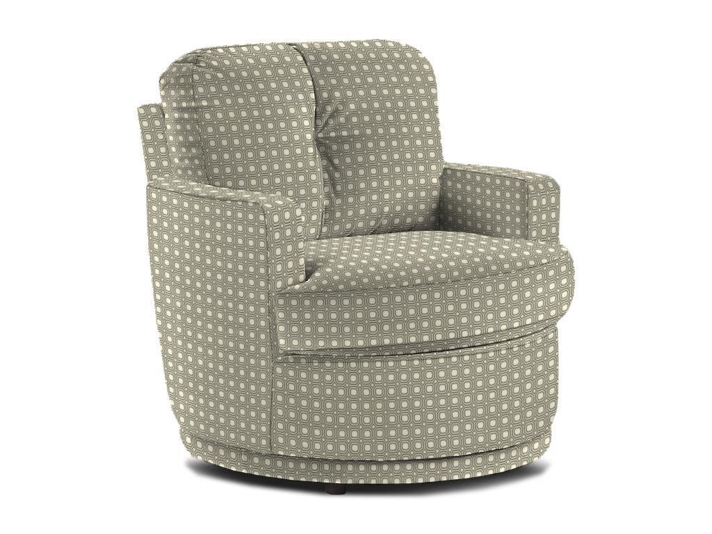 Best Home Furnishings Chairs   Swivel BarrelSkipper Swivel Chair