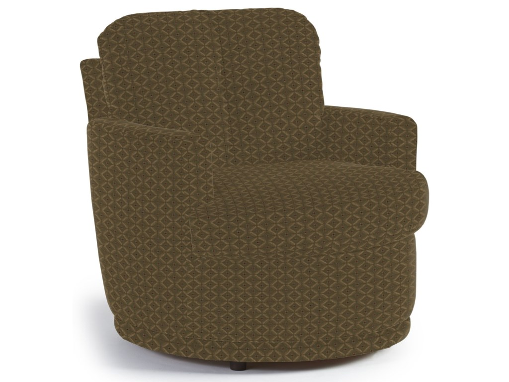 Best Home Furnishings Chairs - Swivel BarrelSkipper Swivel Chair