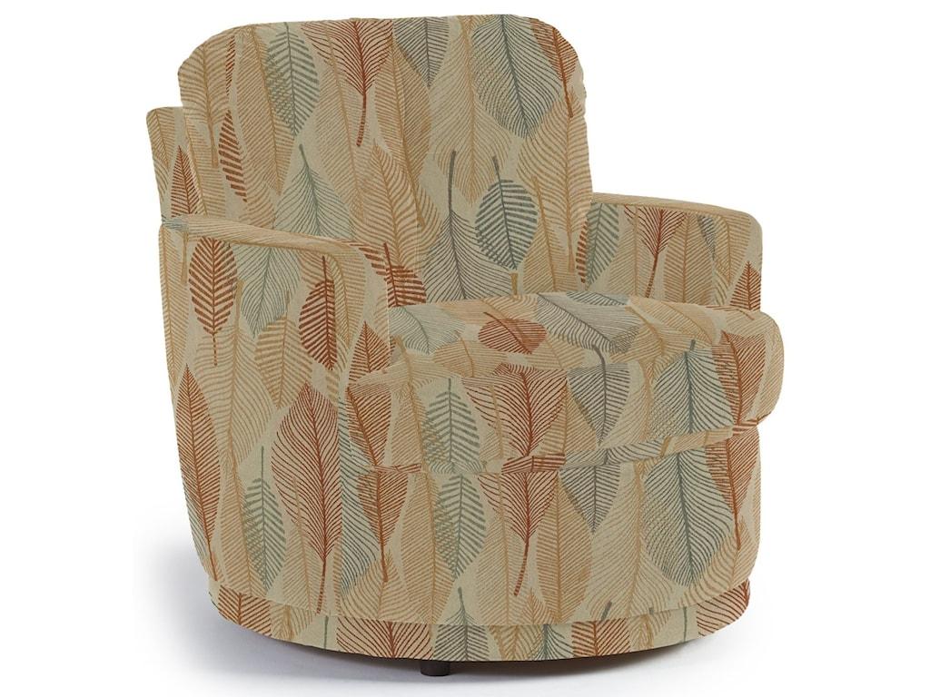 Best Home Furnishings Chairs - Swivel BarrelSkipper Swivel Chair