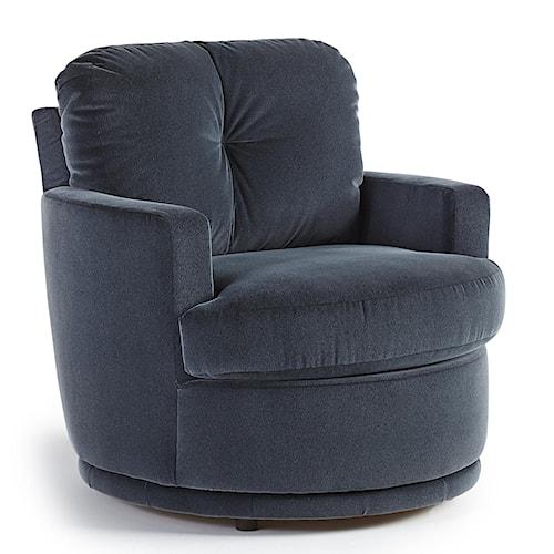 Best Home Furnishings Chairs Swivel Barrel Skipper