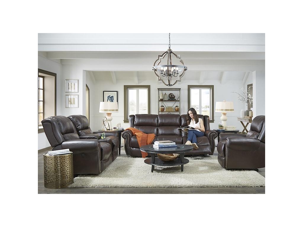 Best Home Furnishings TerrillRocker Reclining Loveseat w/ Console