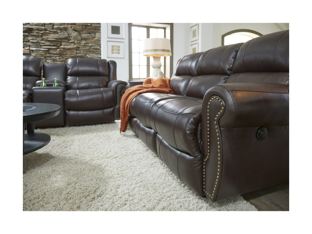 Best Home Furnishings TerrillPower Rocker Recliner Loveseat w/ Console