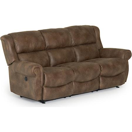 Space Saver Reclining Sofa