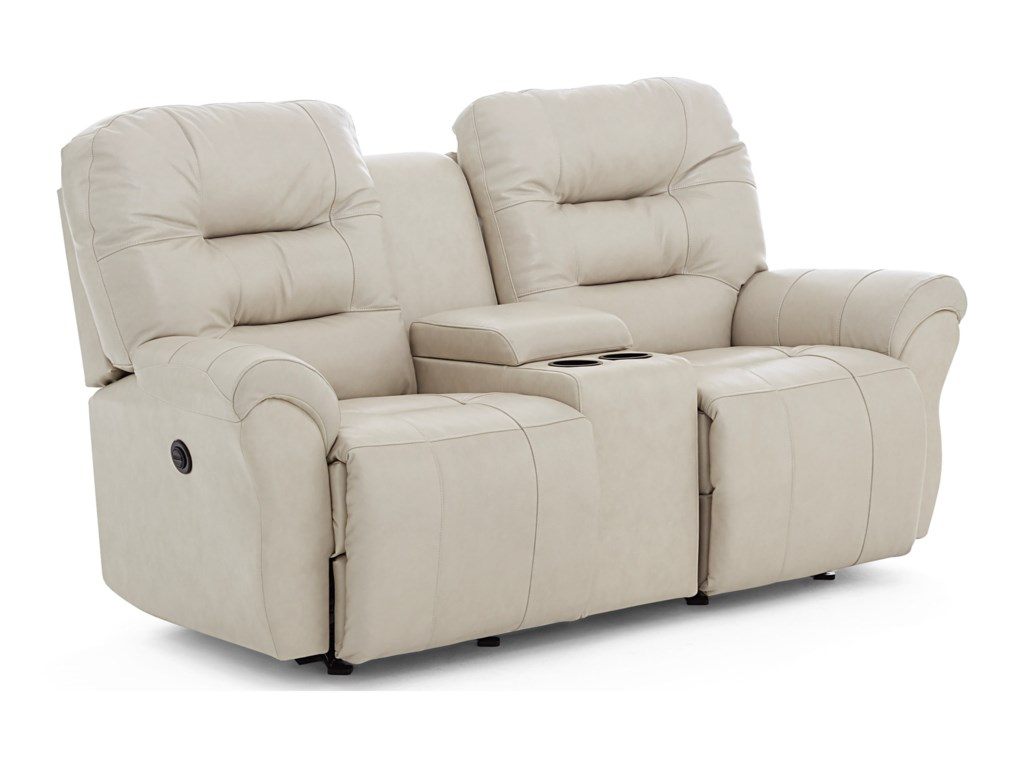 Best Home Furnishings UnityPower Space Saver Console Loveseat Chaise