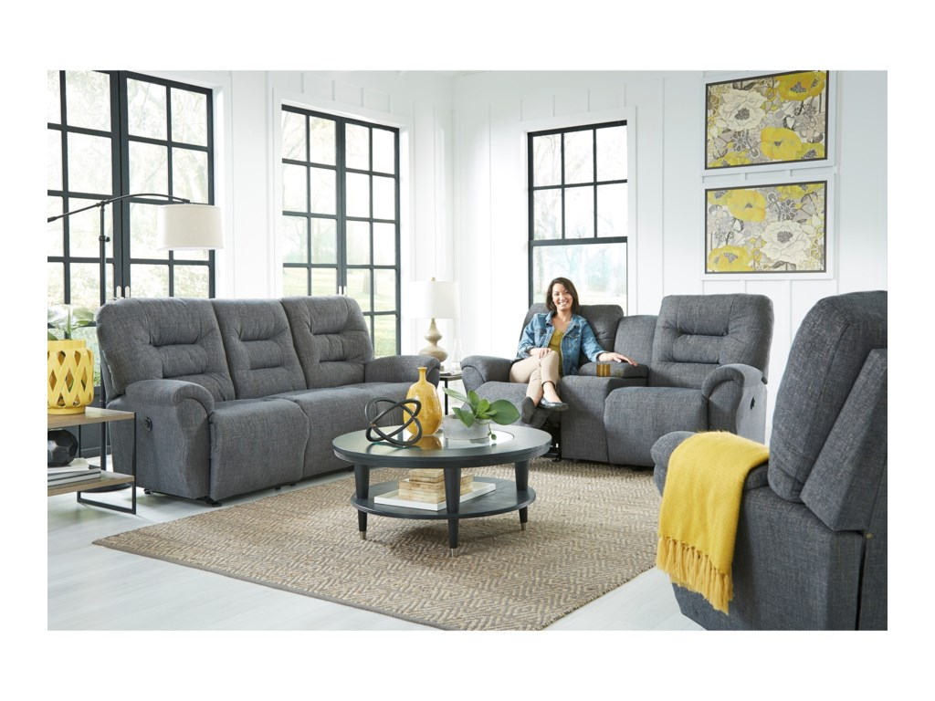 Best Home Furnishings UnityRocker Console Loveseat Chaise