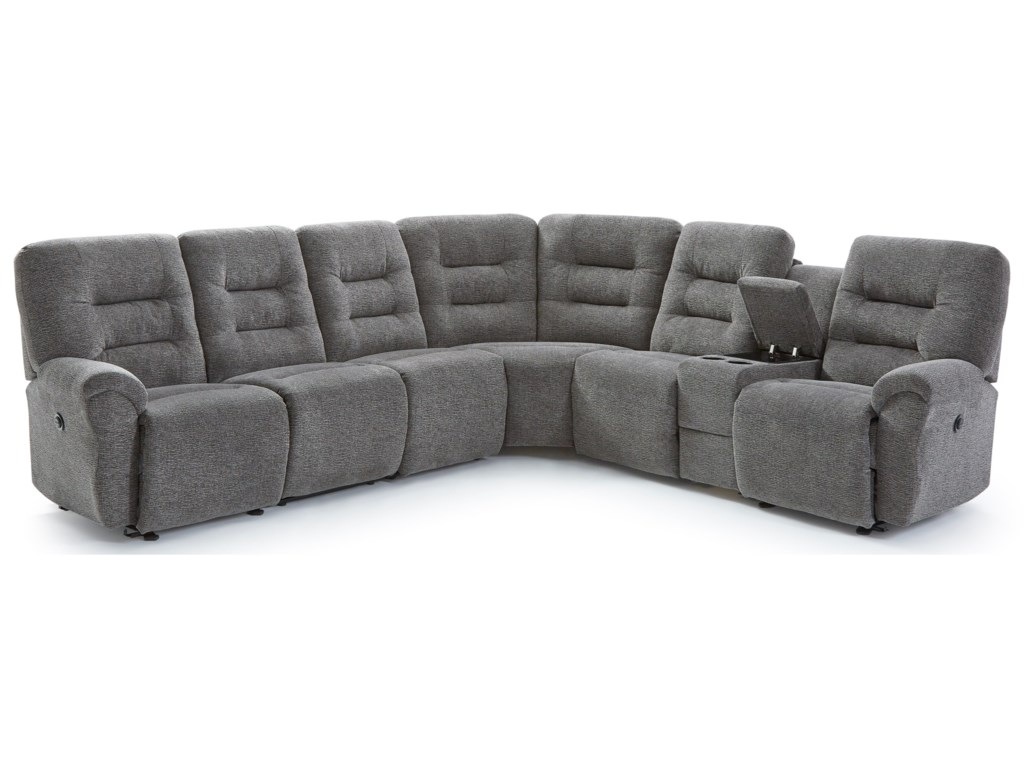 Best Home Furnishings Unity5-Seat Reclining Sectional Sofa