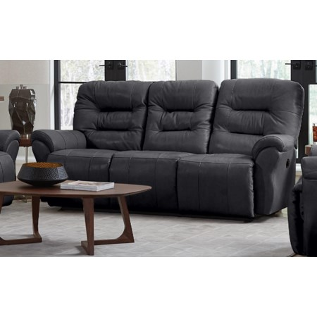 Leather Space Saver Sofa Chaise