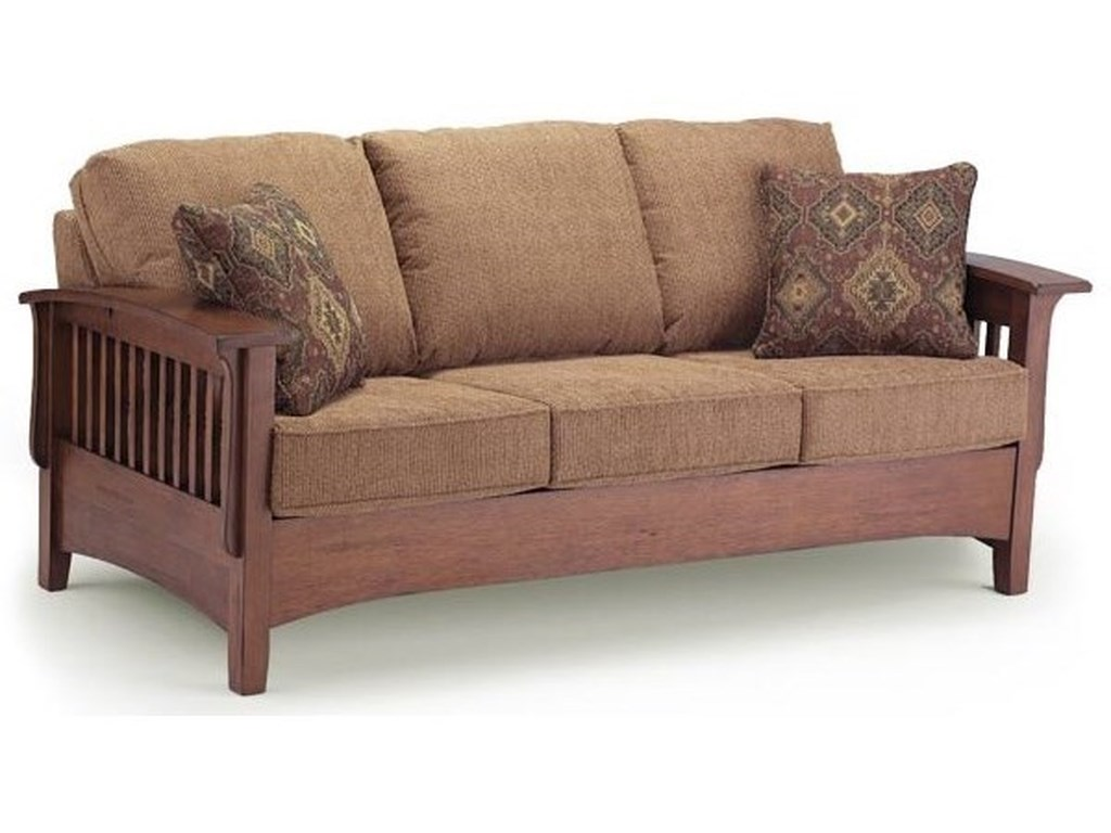 Best Home Furnishings WestneySofa w/ Queen Air Dream Sleeper