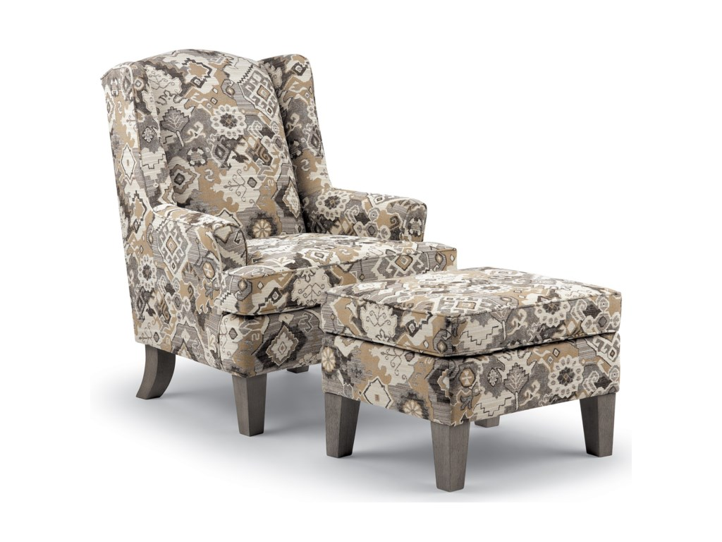 Best Home Furnishings Wing ChairsAndrea Wing Chair