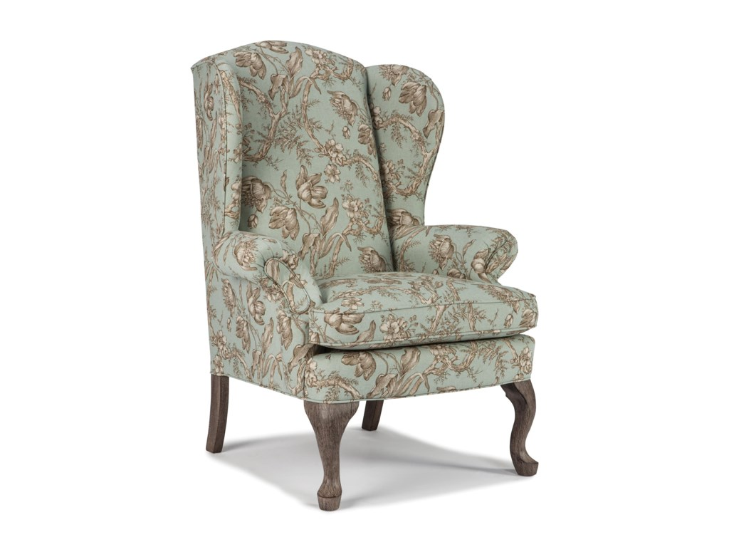 Best Home Furnishings Wing ChairsSylvia Wing Chair
