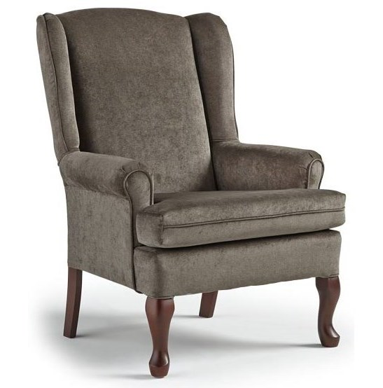 Best Home Furnishings Wing ChairsVespa Wing Back Chair