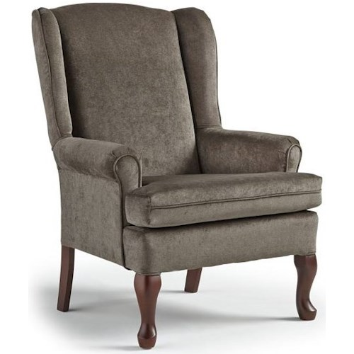 Best Home Furnishings Wing Chairs Vespa Wing Back Chair
