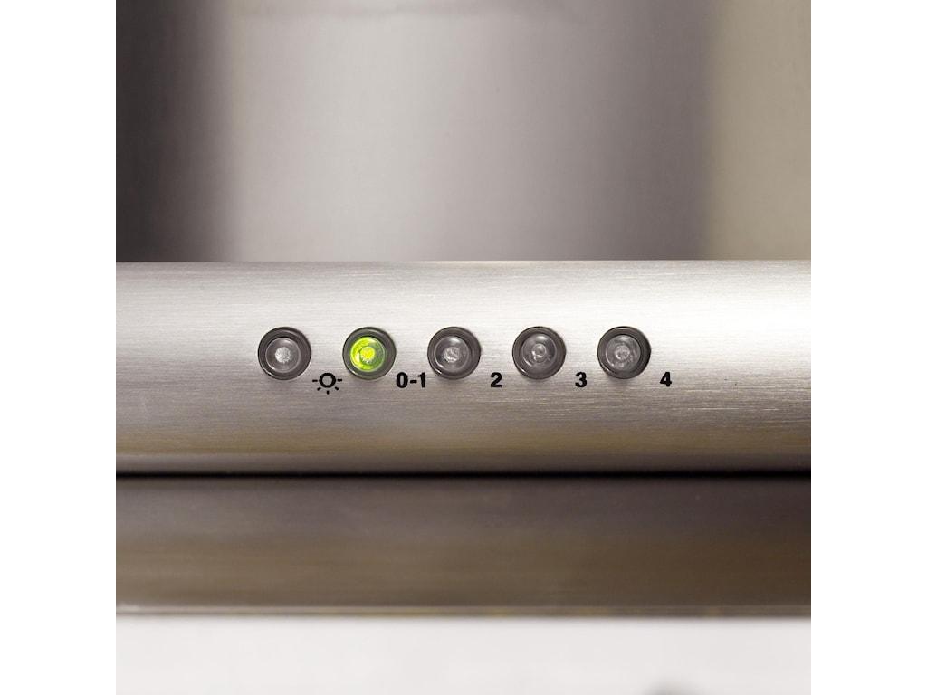 Elegant 4-Speed Push Button Electronic Controls