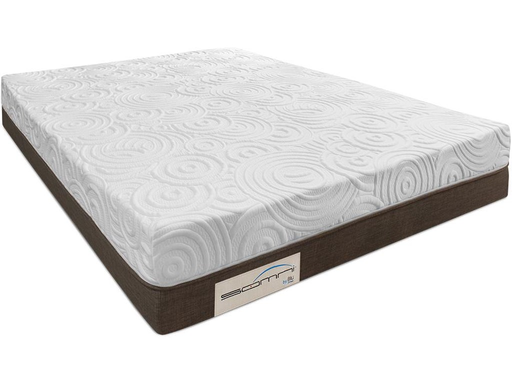Blu Sleep Products AlexiaKing Foam Mattress Set