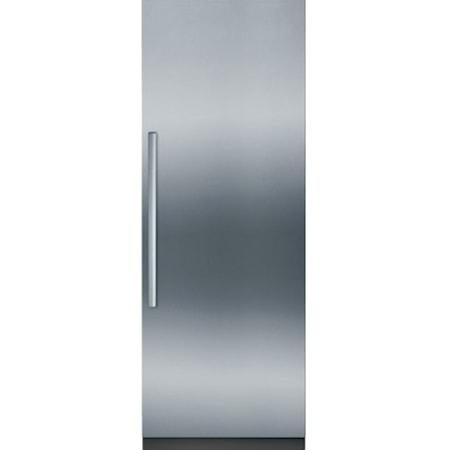 """30"""" Built-In Custom Panel Single Door Fridge"""
