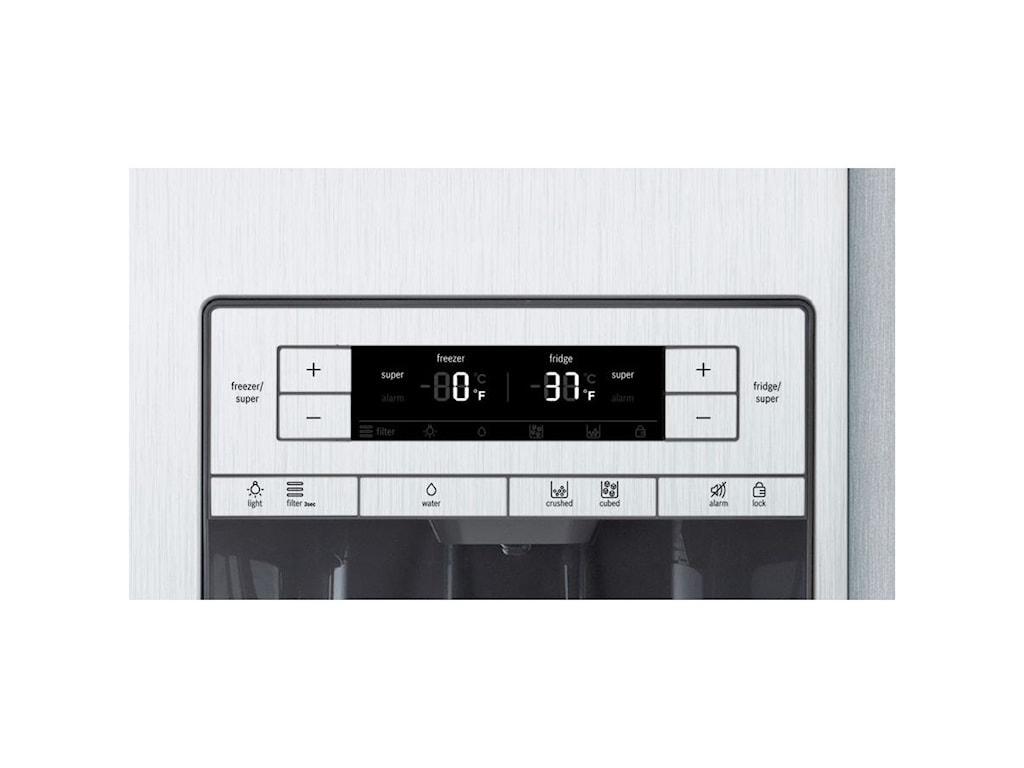 Bosch Side-by-Side Refrigerators36