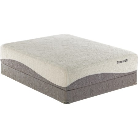 Queen Latex Foam Mattress Set