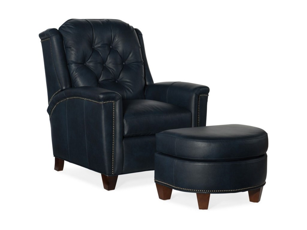 Bradington Young AbernathyTilt-Back Chair and Ottoman Set