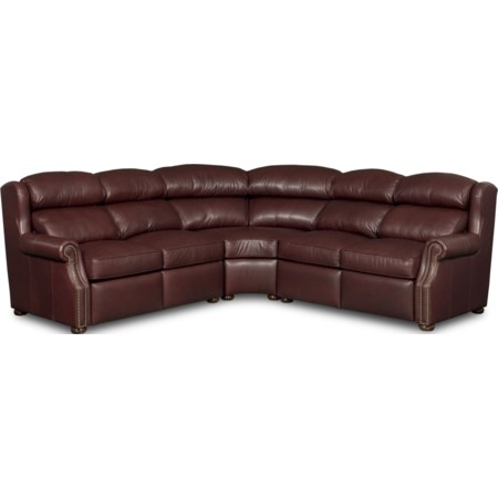 3 Pc Power Reclining Sectional Sofa