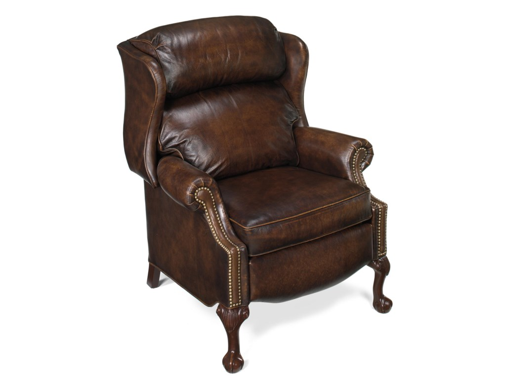 Bradington Young Chairs That ReclineBall & Claw Power Reclining Wing Chair