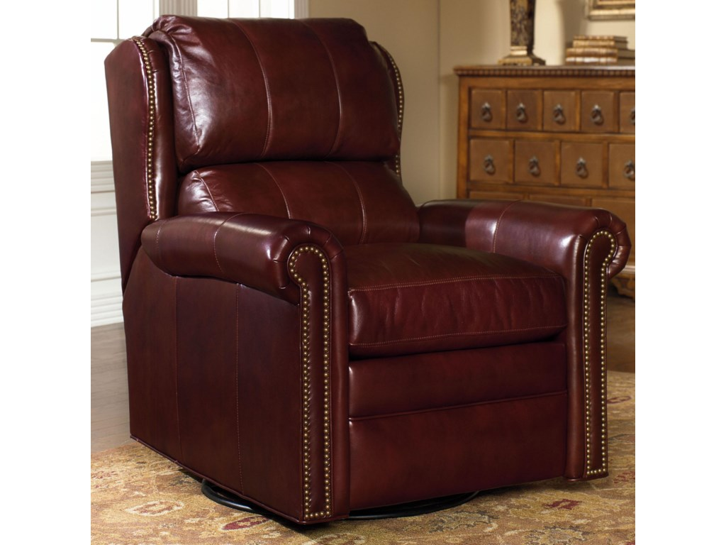Bradington Young Chairs That ReclineSatchel Swivel Glider Recliner