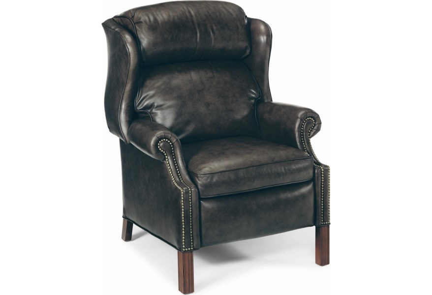 Bradington Young Chippendale 4114 Reclining Wing Chair With