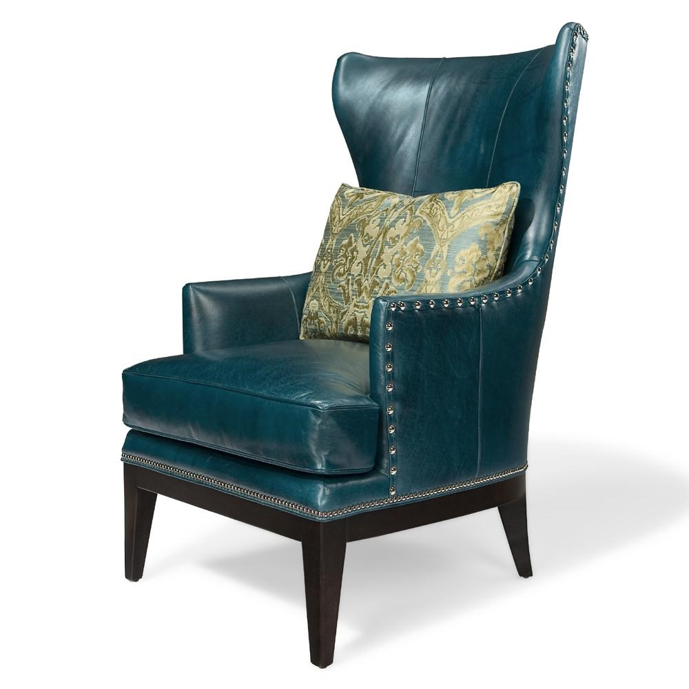 Bradington Young Club Chairs Contemporary Wing Chair   Baeru0027s Furniture    Wing Chair