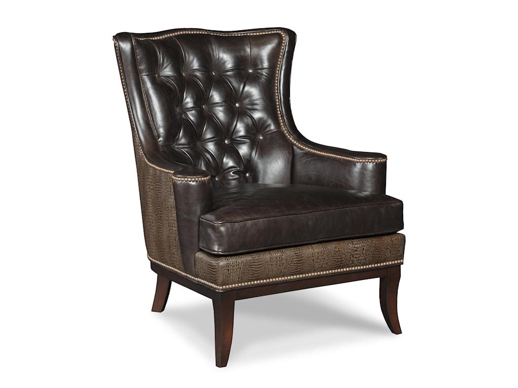 Bradington Young Club ChairsHudson Stationary Chair