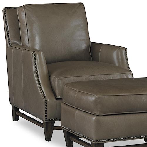 Bradington Young Club Chairs Madigan Stationary Chair