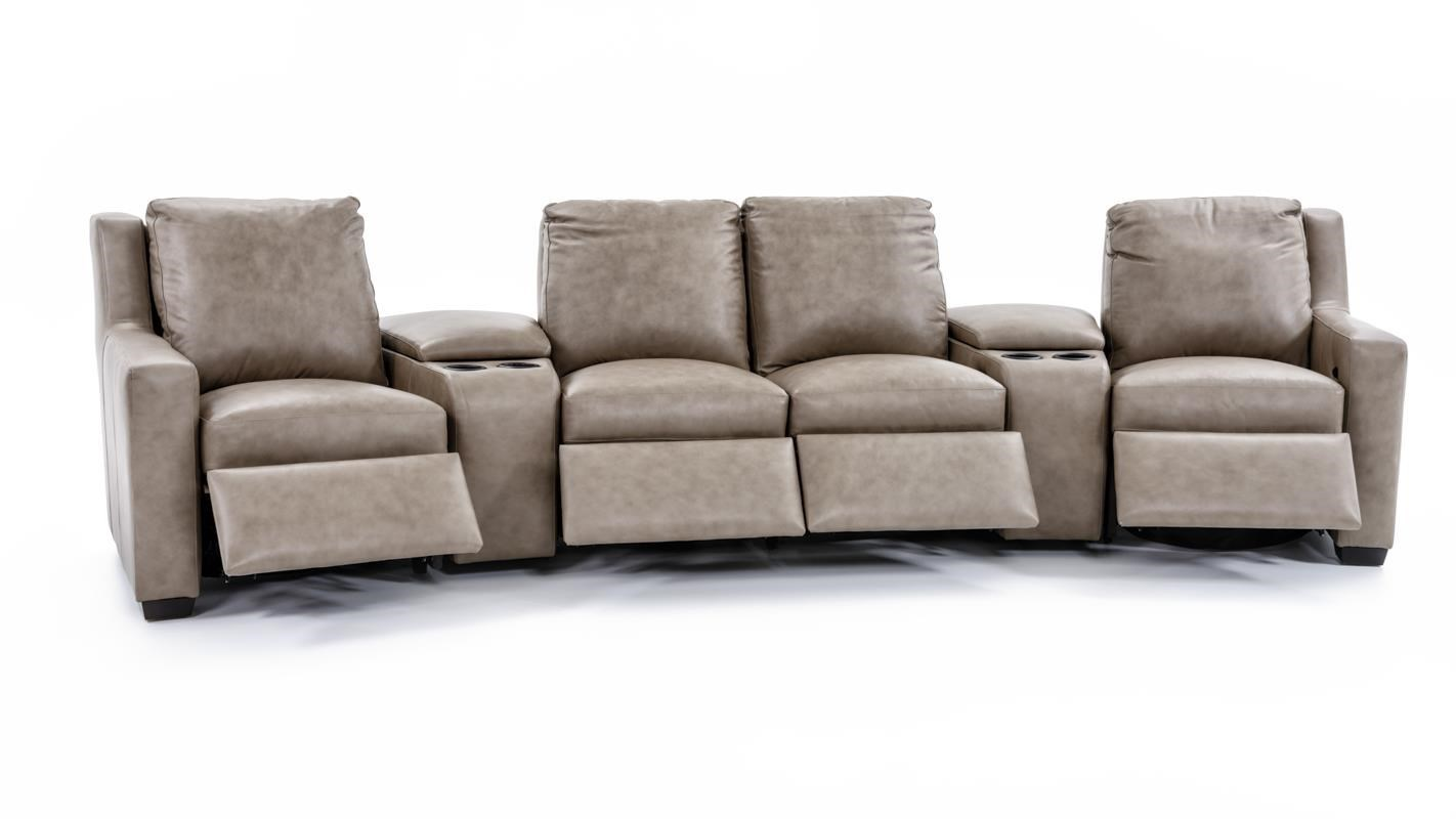 bradington young connery 922 three piece sect three piece power reclining sectional sofa with cupholder storage consoles