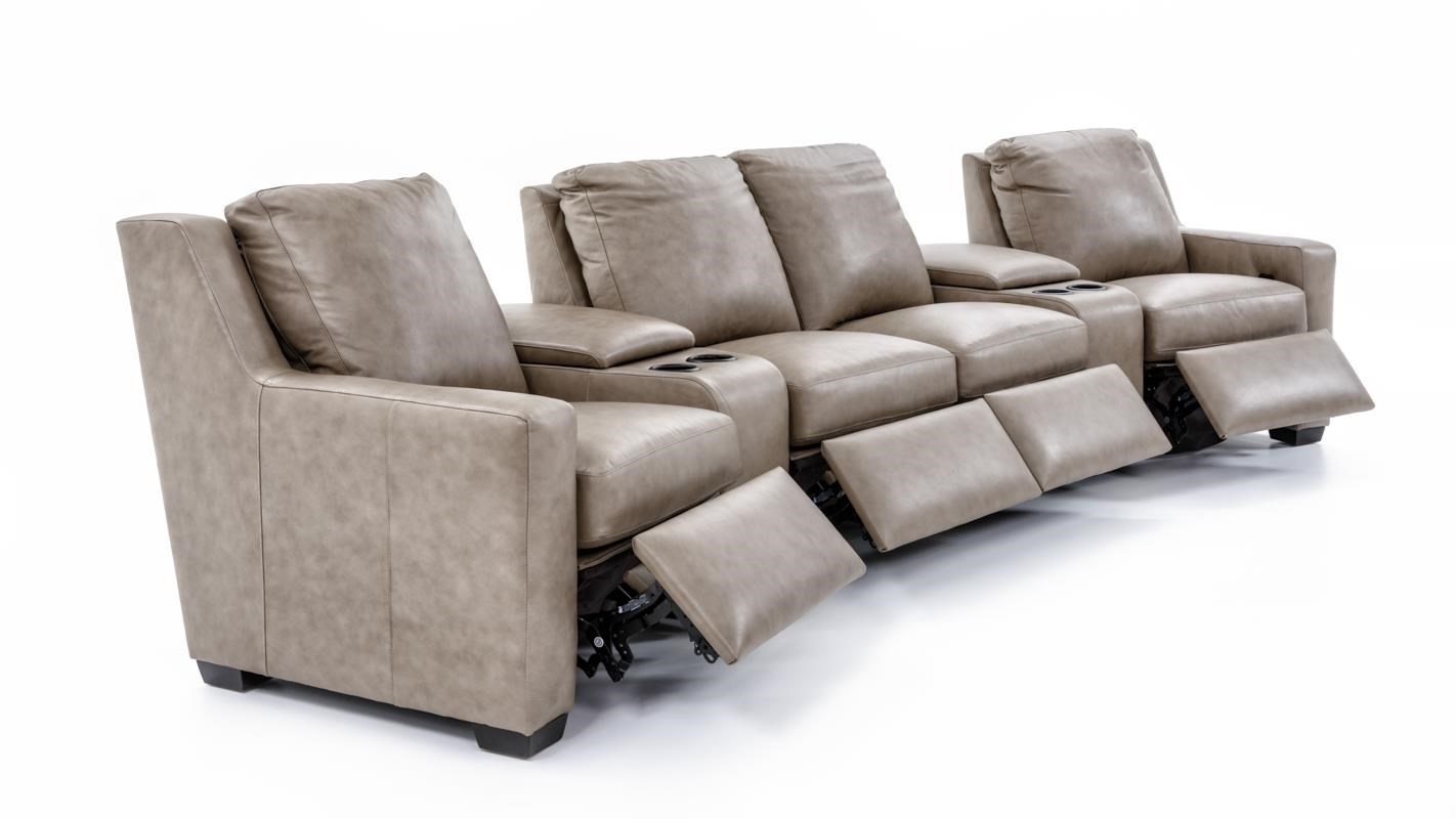 Bradington Young Connery 922 three piece sect Three Piece Power Reclining Sectional Sofa with Cupholder Storage Consoles  sc 1 st  Baeru0027s Furniture & Bradington Young Connery Three Piece Power Reclining Sectional ... islam-shia.org