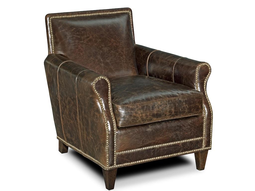 Bradington Young CorbeauStationary Club Chair