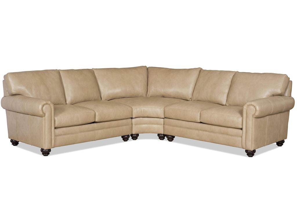 Bradington Young Daire3 Pc Sectional Sofa