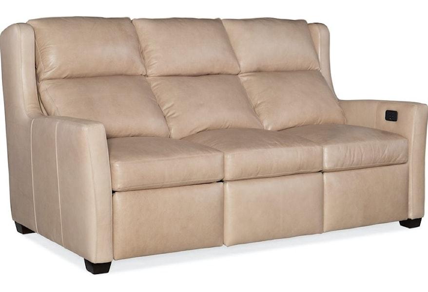 Bradington Young Dixon Contemporary City Scale Motion Sofa | Belfort Furniture | Reclining Sofas