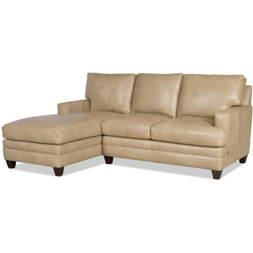 Bradington Young Donnelly Two Piece Sectional Sofa with LAF Chaise